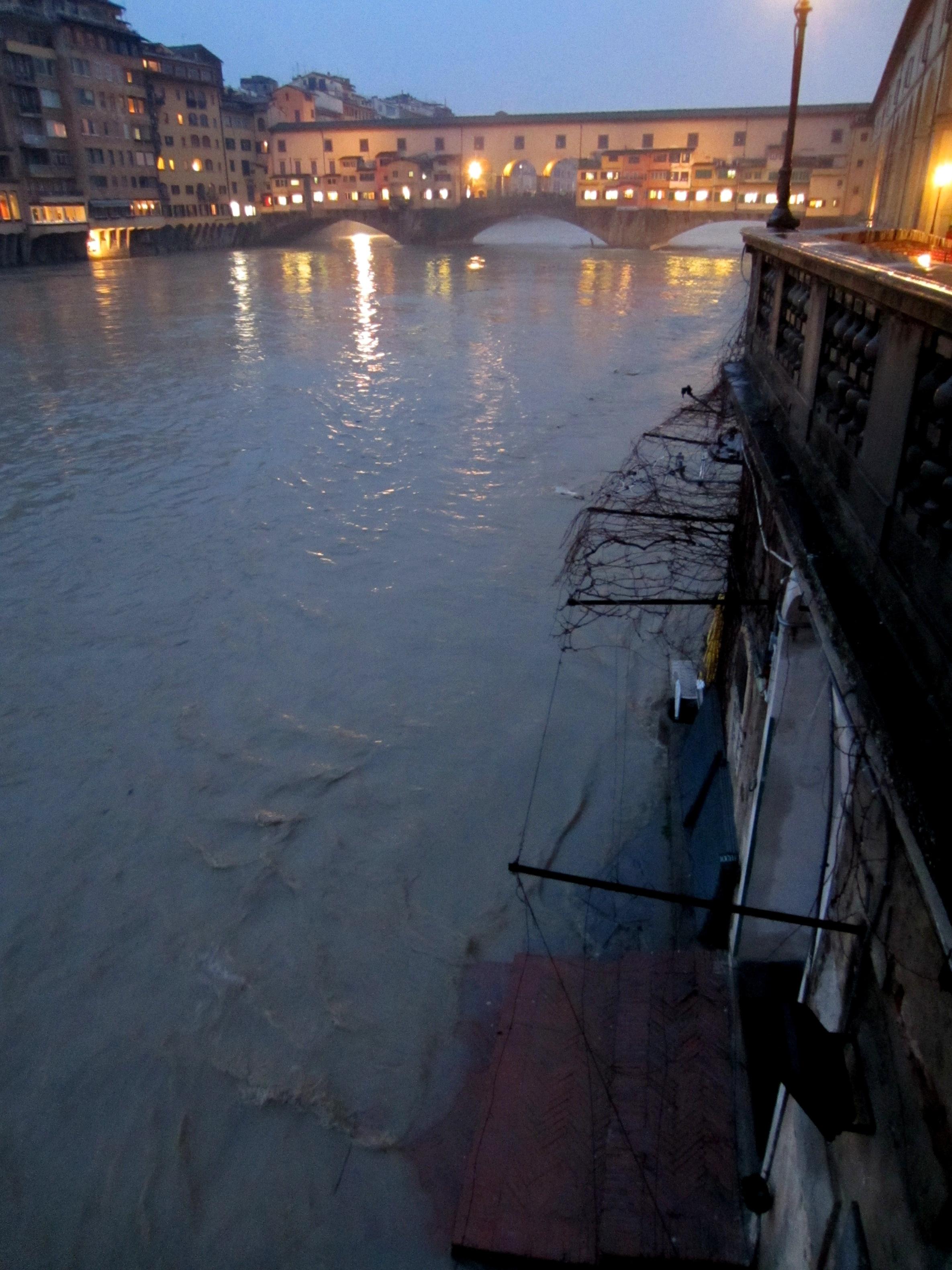 Quando l'Arno…   Firenze Notizie