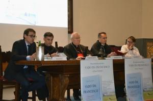 """Presentato il libro """"Vado da Francesco"""" di padre Enzo Fortunato"""
