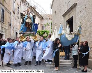 Processione di Maria SS. Incoronata con omaggio a San Giovanni Paolo II
