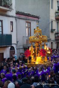 La processione del Signore della Città o Cristo Nero