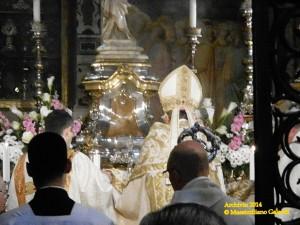 Ostensione della reliquia della Sacra Cintola