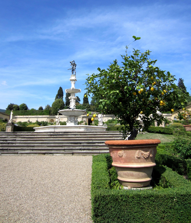 Ville e giardini in toscana patrimonio unesco firenze - Foto giardini ville ...