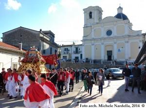 Festa di San Fortunato Martire di Cristo, compatrono serrano