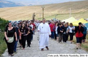 La Madonna del Carmine del Monte Crispignano