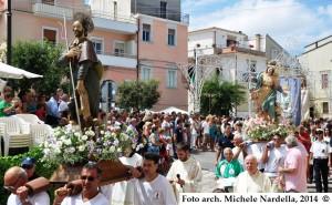 Processione ischitellana dell'Assunta, di San Rocco e di Sant'Eustachio