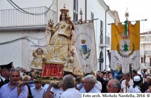 Culto e festa patronale casalnovese di Maria SS. della Rocca