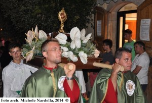 Festa patronale di San Rocco, Sant'Agata e San Lorenzo