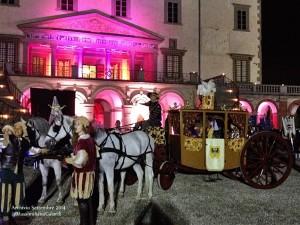 Rievocazione storica dell'arrivo di Giovanna d'Austria a Villa Ambra