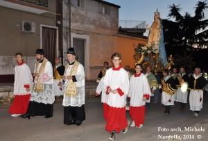 Processione sannicandrese della Madonna del Rosario