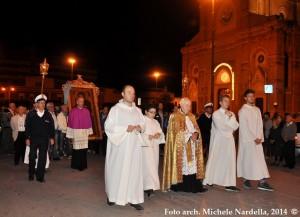 Il ritorno dell'icona della Madonna di Ripalta dal duomo al suo santuario