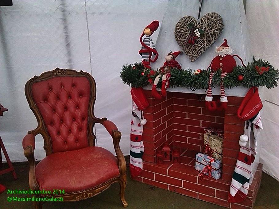 Fotoreportage Gm Il Trono Di Babbo Natale