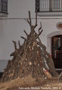 Fuochi alberonesi in onore di Sant'Antonio abate 2015