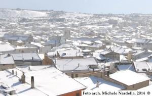 L'ultima nevicata dell'anno a San Giovanni Rotondo