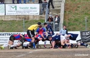 Rugby serie A, troppi errori dell'Unione Rugby Prato Sesto e il Gran Sasso vince la gara
