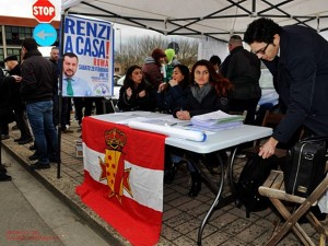 Salvini nel Mugello