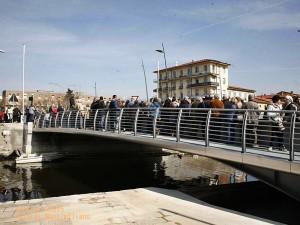 Il nuovo ponte girevole