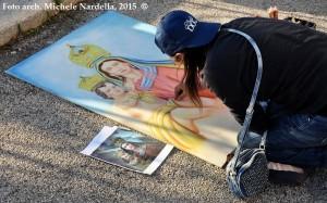 L'arte dei madonnari in onore di Maria SS. della Fontana