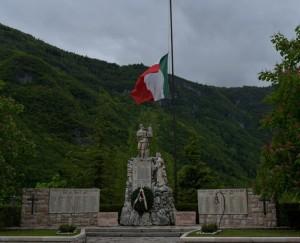 Monumento commemorativo alle vittime dell'eccidio a Valdastico