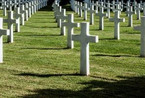Cimitero di guerra a Nettuno