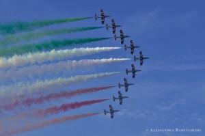 Frecce Tricolori a Bari