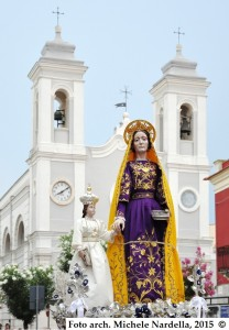 Processione trinitapolese di Sant'Anna
