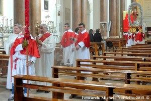 La processione trinitapolese di Santo Stefano protomartire
