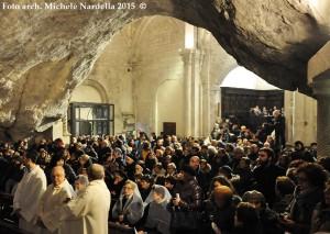 Apertura della <i>Porta Santa</i> del Santuario di San Michele Arcangelo