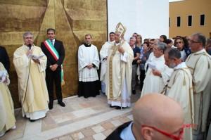 Consacrazione nuova chiesa SS. Giuseppe e Pio