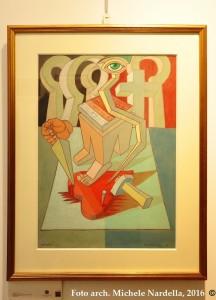 Opere su carta di Alfredo Bortoluzzi, <i>dal Bauhaus al mare</i>