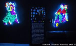 """<i>""""Note d'arte""""</i>: mostra di sculture luminose di Marco Lodola"""
