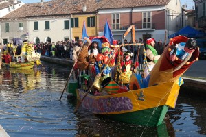 Il Carnevale… sull'acqua