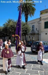 Mattinata di Pasqua con la processione lucerina di Gesù Risorto