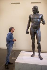 Al museo con lo scrittore