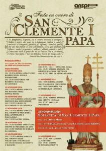 Festa di San Clemente I Papa, 2016