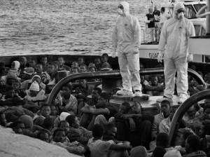 L'immigrazione arriva dal mare