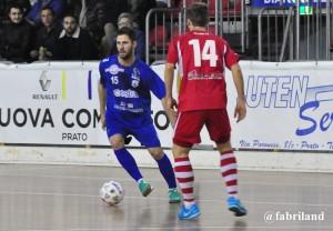 Calcio a 5 serie A2, il Prato sconfitto in casa dal Milano