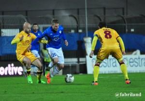 Lega Pro, lanieri sconfitti nel derby dal Livorno