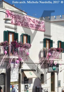 Festa peschiciana per l'arrivo dell'ottava tappa del Giro d'Italia n. 100