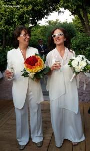 Il primo matrimonio civile tra due donne in città