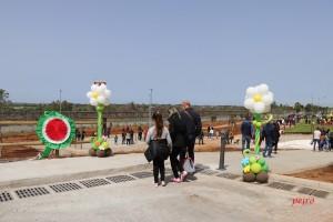 Inaugurazione parco lineare della ferrovia