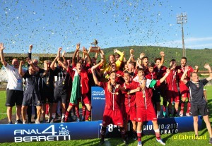 Campionato Nazionale D. Berretti Lega Pro,  Livorno campione d'Italia
