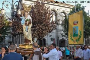 La Madonna del Carmine del Monte Crispignano tra i monteleonesi