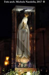 Il ritorno della statua della Madonna pellegrina di Fatima venerata da San Pio