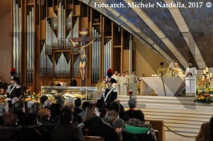 Traslazione del corpo di San Pio nella cripta della sua prima sepoltura