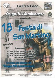 Festa sannicandrese di San Martino di Tours