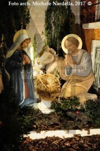 Presepe a sagome nella Chiesa del Trionfo del Purgatorio