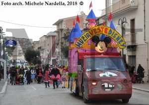 Carnevale cagnanese 2018