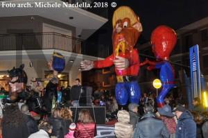 Prima sfilata del Sesto Carnevale apricenese