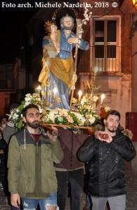 Festa di San Giuseppe con processione e <i>fanoje</i>