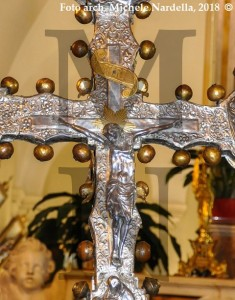 Conferenza sulla Croce processionale argentea della Chiesa Madre sammarchese
